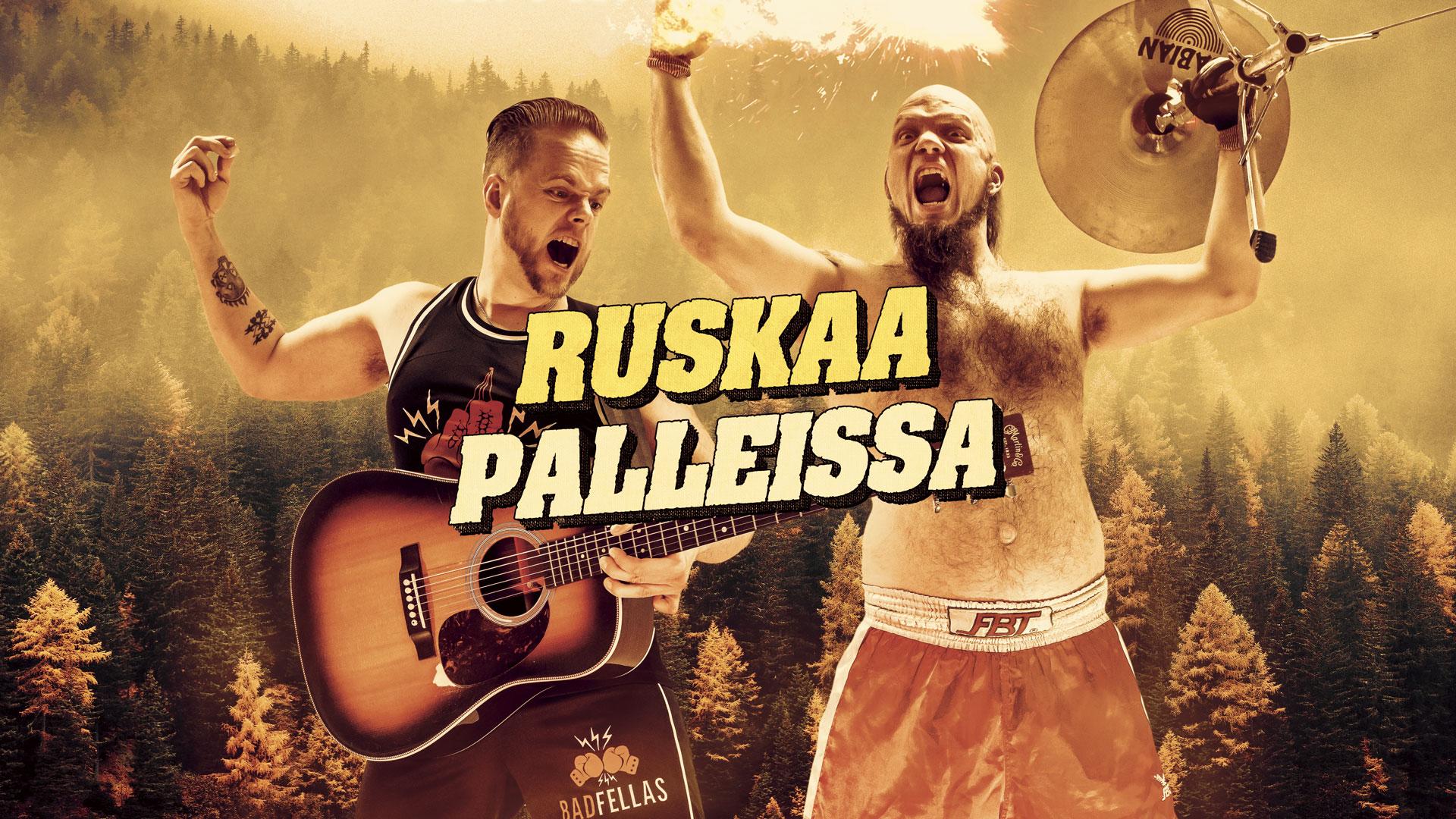Lapin luonto luo outoa kiimaa – Badfellas Ruskaa Palleissa -kiertueelle!