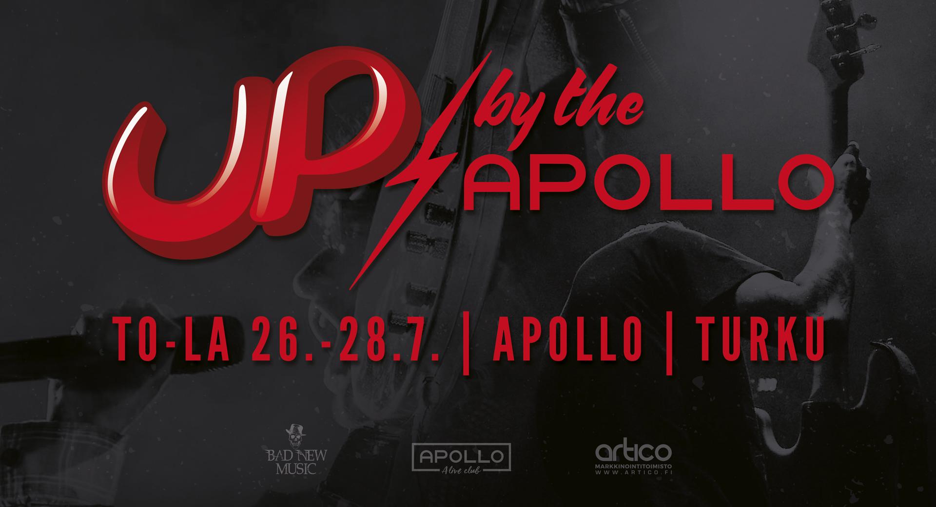 Up By The Apollo – Uusi tapahtumakonsepti persoonatonta ohjelmatarjontaa vastaan!